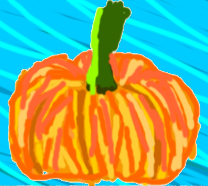 out of season pumpkin