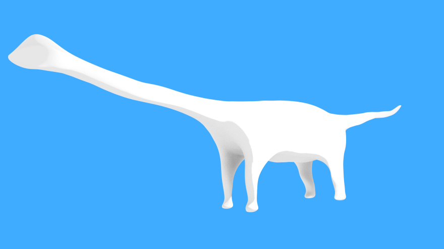 spirit of the diplodocus